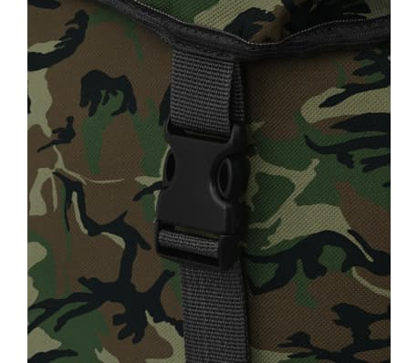 vidaXL Army-Style Backpack 65 L Camouflage[6/7]