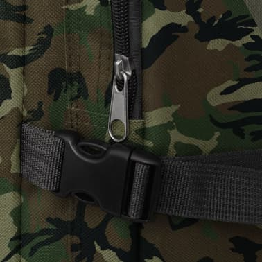 vidaXL Army-Style Backpack 65 L Camouflage[5/7]
