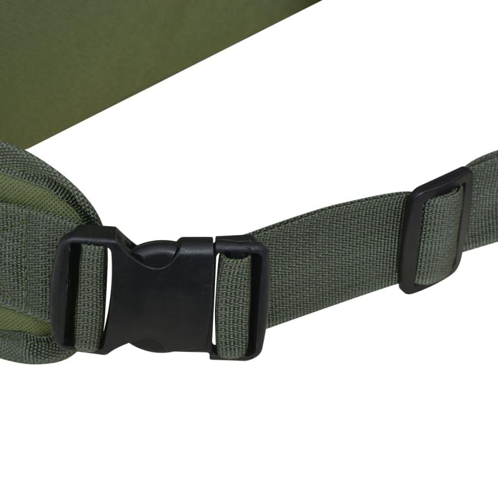 Nahrbtnik v Vojaškem Stilu 65 L Zelene Barve