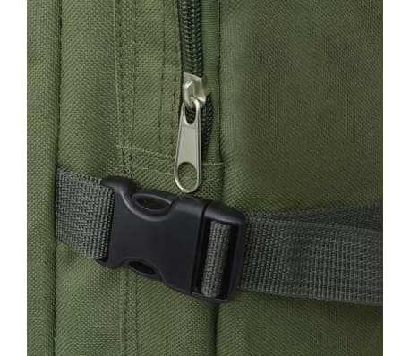 vidaXL Army-Style Backpack 65 L Green[5/7]