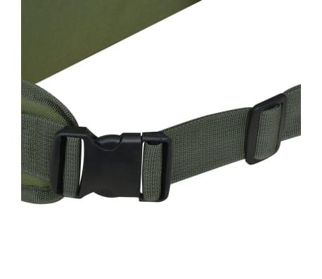 vidaXL Militaristinio stiliaus kuprinė, 65 l, žalia[7/7]