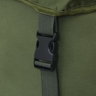 vidaXL Army-Style Backpack 65 L Green[6/7]