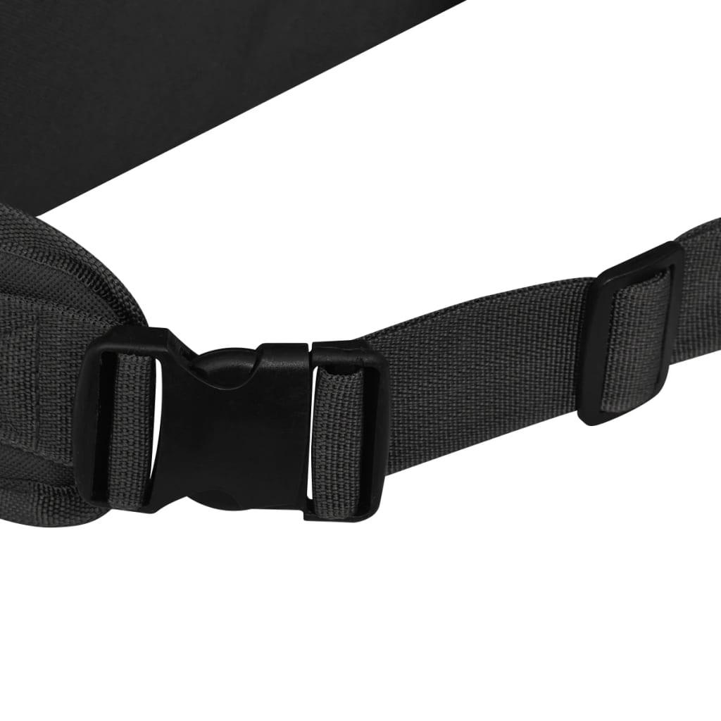 Nahrbtnik Vojaški Stil 65 L Črne Barve