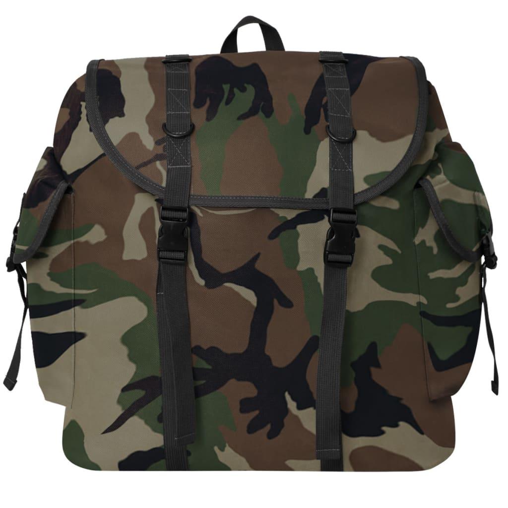 Nahrbtnik Vojaški Stil 40 L Kamuflažne Barve