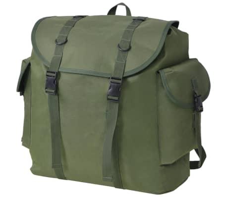 b948fce49f Acheter vidaXL Sac à dos en style militaire 40 L vert pas cher ...