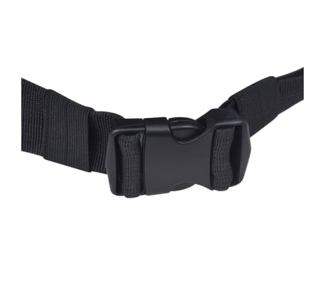 vidaXL Hiking Backpack XXL 75 L Black and Green[5/7]