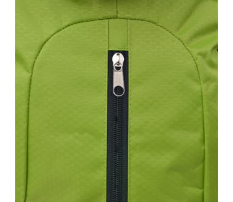 vidaXL Hiking Backpack XXL 75 L Black and Green[7/7]