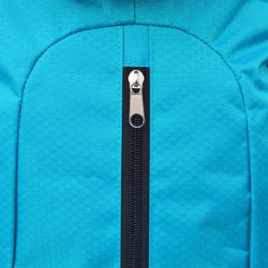 vidaXL Hiking Backpack XXL 75 L Black and Blue[7/7]