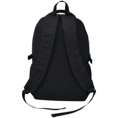 vidaXL School Backpack 40 L Black and Camouflage[4/9]