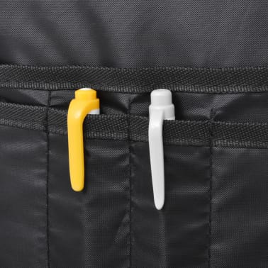 vidaXL School Backpack 40 L Black and Camouflage[9/9]