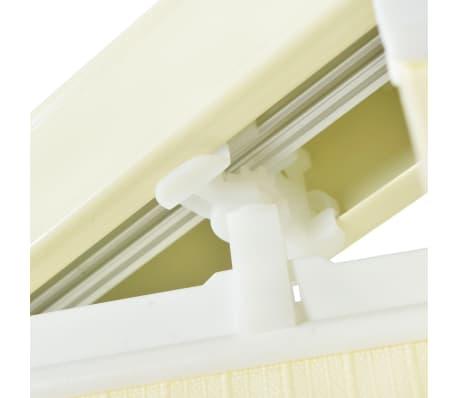 vidaXL Jaluzele verticale din material textil, 150 x 250 cm, crem[9/9]