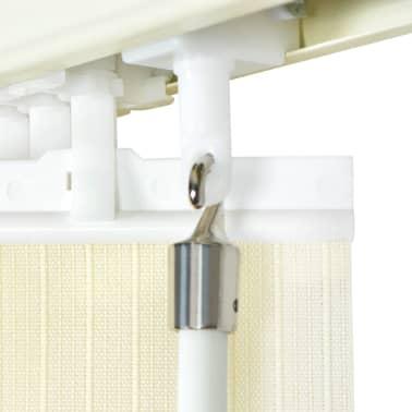 vidaXL Jaluzele verticale din material textil, 150 x 250 cm, crem[6/9]