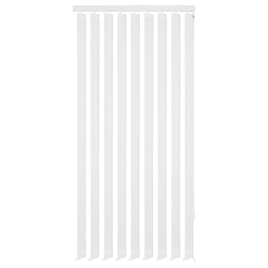 vidaXL Jaluzele verticale din material textil, 120 x 250 cm, alb poza vidaxl.ro