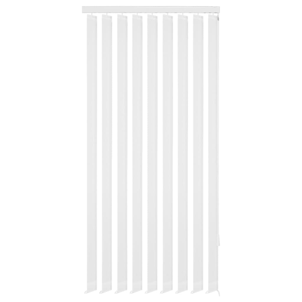 vidaXL Περσίδες Κάθετες Λευκές 150 x 250 εκ. Υφασμάτινες