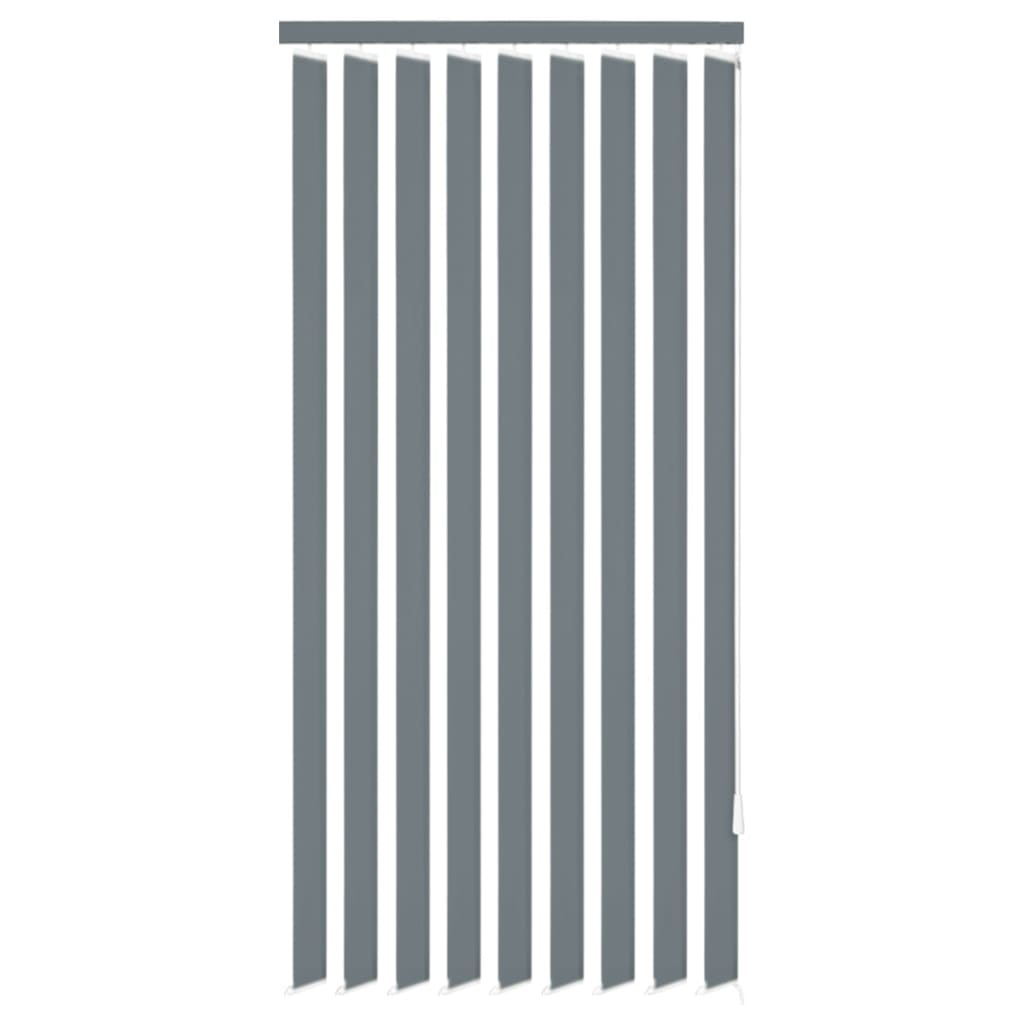 vidaXL Περσίδες Κάθετες Γκρι 150 x 180 εκ. Υφασμάτινες