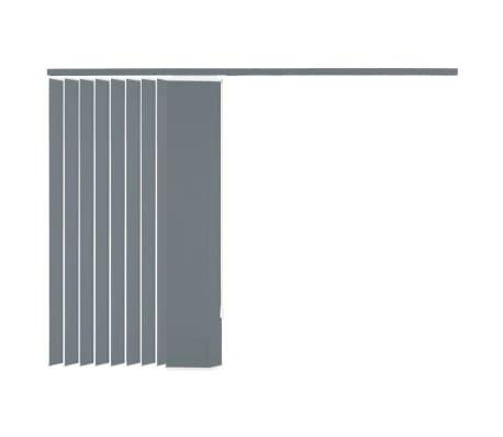 vidaxl vertikale jalousien grau stoff 200x180 cm g nstig kaufen. Black Bedroom Furniture Sets. Home Design Ideas
