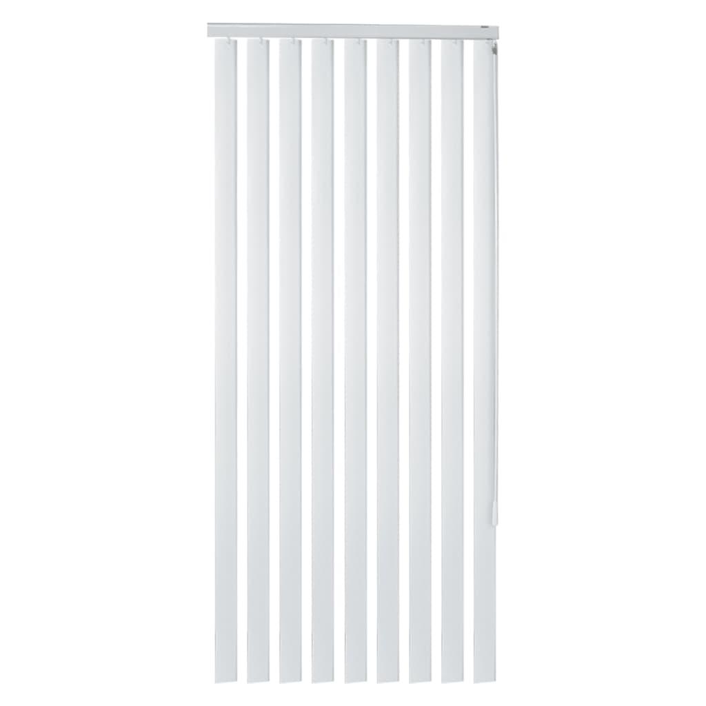 vidaXL Jaluzele verticale din PVC, alb, 180 x 180 cm vidaxl.ro