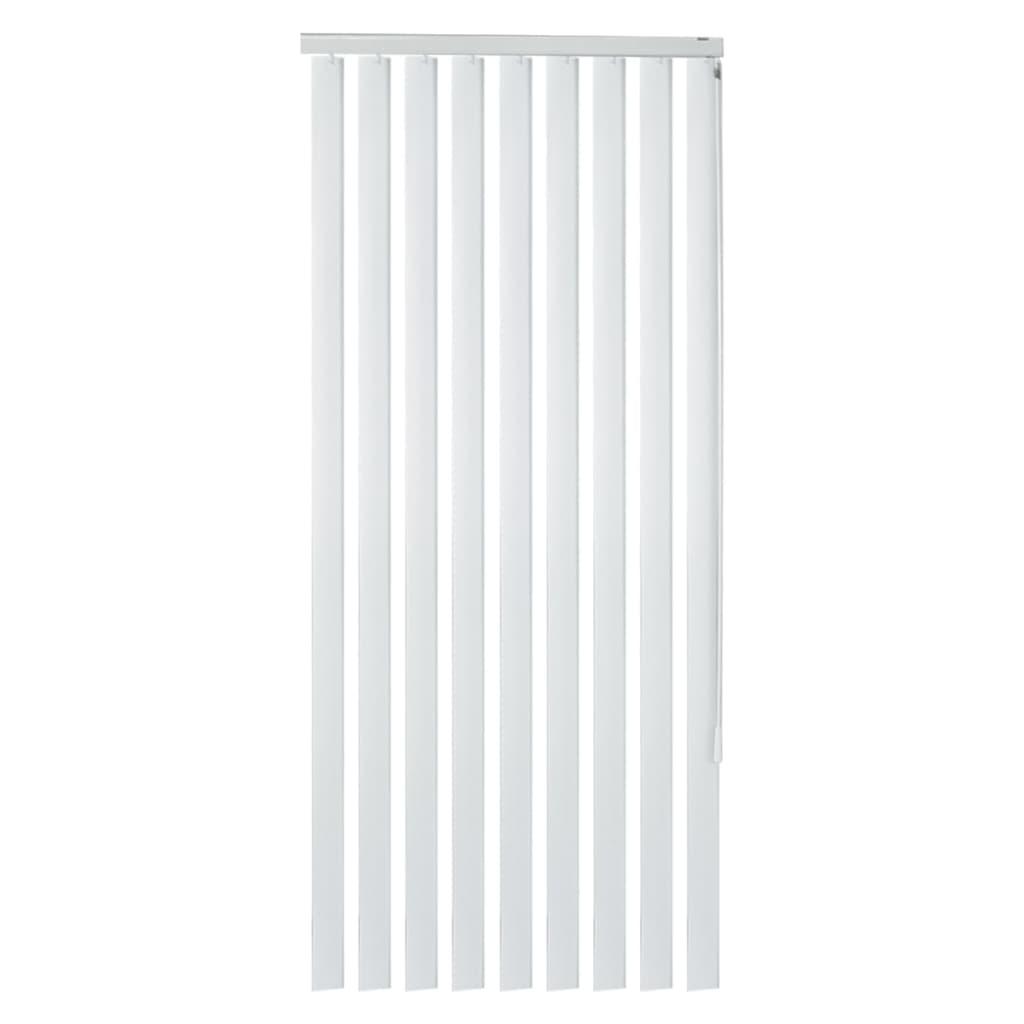 vidaXL Περσίδες Κάθετες Λευκές 150 x 250 εκ. από PVC