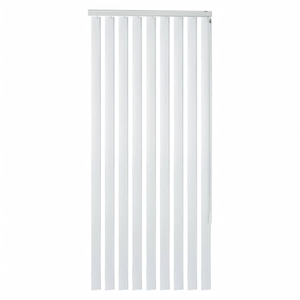 vidaXL Jaluzele verticale din PVC, alb, 180 x 250 cm vidaxl.ro