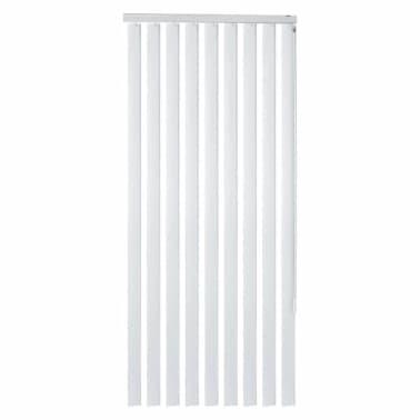 Utmerket Shop vidaXL Vertikale persienner hvit PVC 180x250 cm | vidaXL.no OH-31