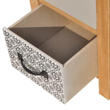 vidaXL Szafka z szufladkami 34x34x46 cm lite drewno[5/6]