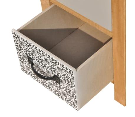 vidaXL Szafki z szufladkami 2 szt. 34x34x46 cm lite drewno[5/6]