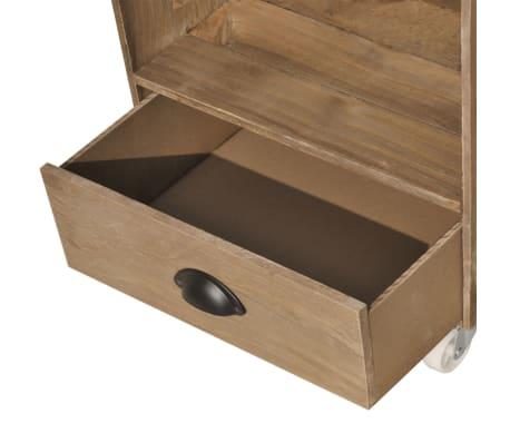 vidaXL Nightstand Brown Solid Wood[10/12]