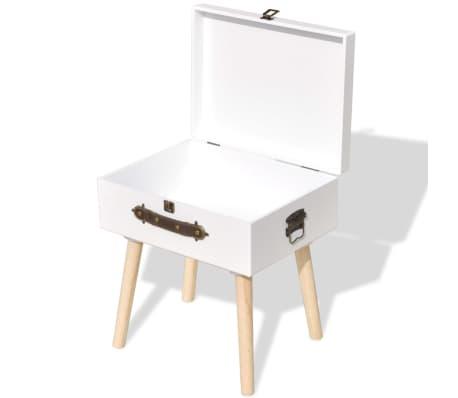 vidaXL Side Cabinet 40x30x41.5 cm White[4/6]