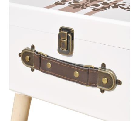 vidaXL Side Cabinet 40x30x41.5 cm White[5/6]