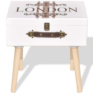 vidaXL Side Cabinet 40x30x41.5 cm White[3/6]