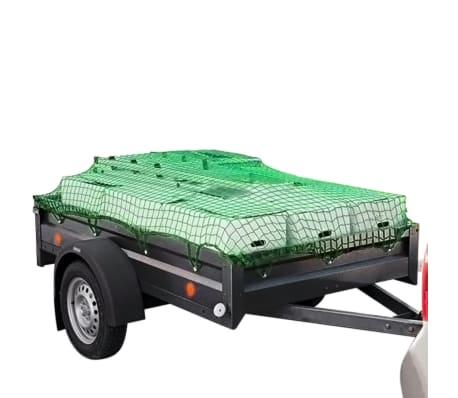vidaXL tinklas priekabai, 2,5 x 4,5 m PP[4/4]