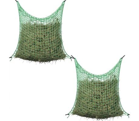 vidaXL siena tīkli, 2 gab., 0,9x1 m, kvadrāta forma, polipropilēns