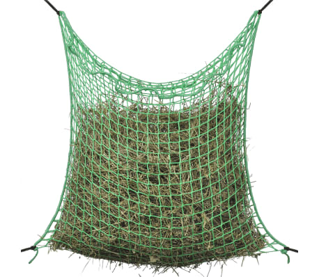 vidaXL Hay Net Square 0.9x2 m PP-picture