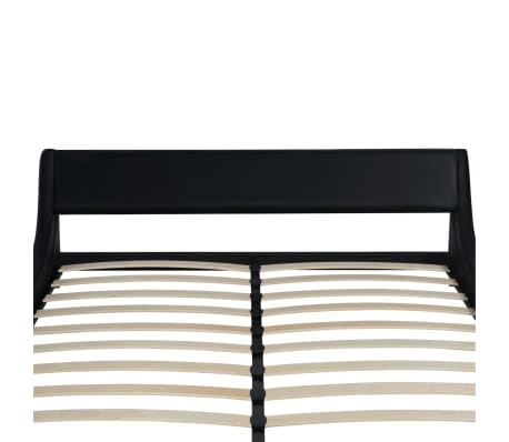 vidaXL Rám postele černý umělá kůže 180 x 200 cm[5/6]