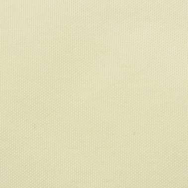vidaXL Solsegel oxfordtyg kvadratiskt 3,6x3,6 m gräddvitt[2/4]