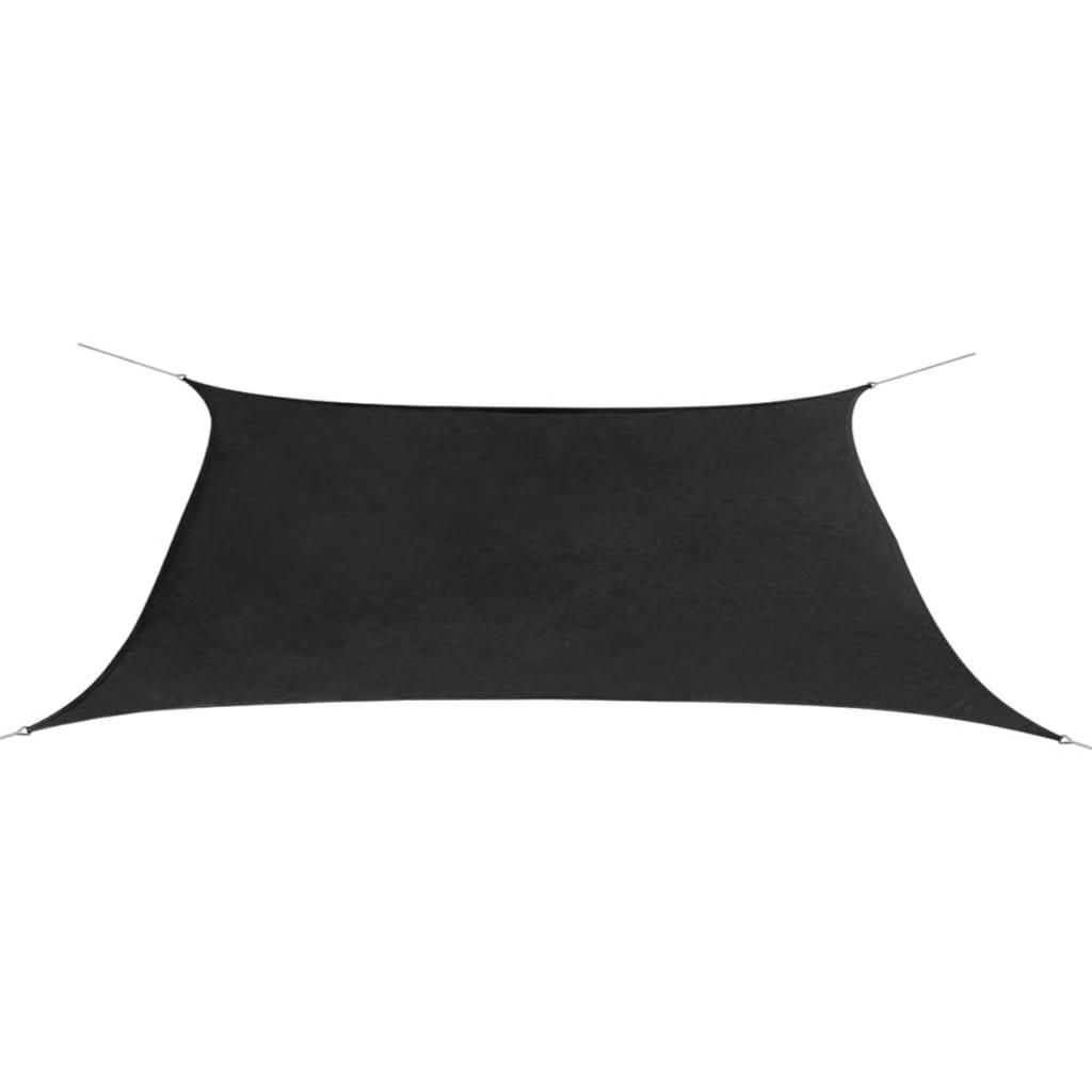 Plachta proti slunci z oxfordské látky obdélník 2x4m antracit