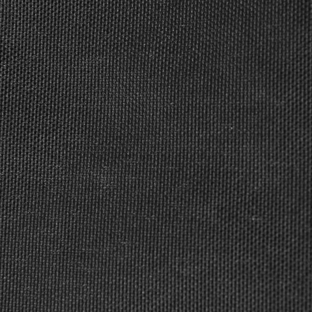vidaXL Zonnescherm driehoekig 3,6x3,6x3,6 m oxford stof antraciet