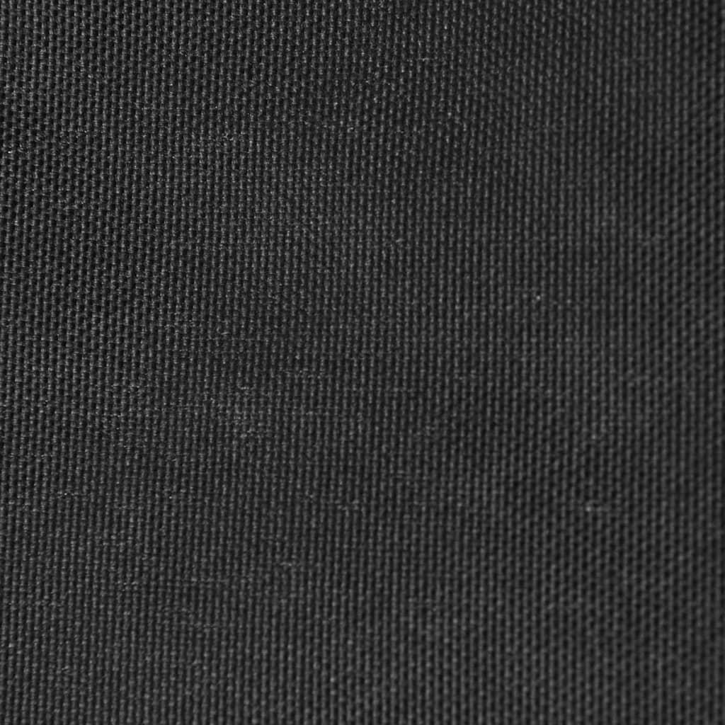 vidaXL Zonnescherm driehoekig 5x5x5 m oxford stof antraciet