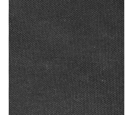 vidaXL Paravento da Balcone in Tessuto Oxford 75x600 cm Antracite[2/4]