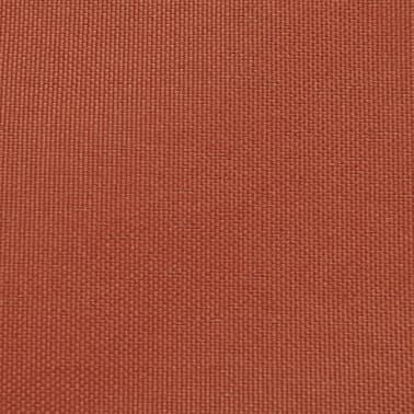 vidaXL balkonafskærmning Oxford-stof 75 x 600 cm terracotta[2/4]