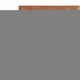 vidaXL Teak Batavia Bench with 2 Seats 47.2""