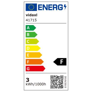 vidaXL Luzes LED de encastrar no chão 6 pcs 100x100x68 mm[8/9]