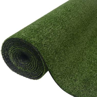 vidaXL Kunstgras 1 x 15 m / 7 - 9 mm groen[1/3]
