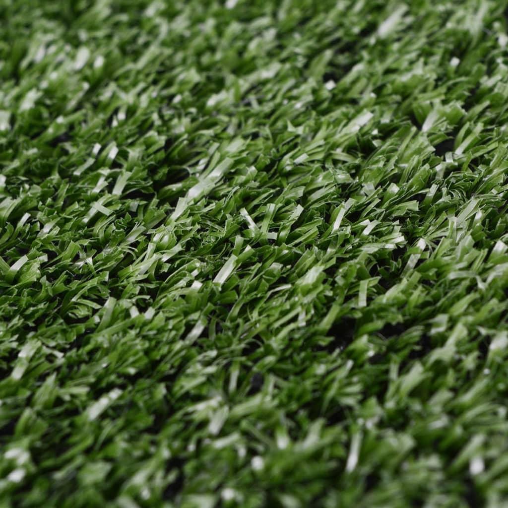 vidaXL Kunstgras 1 x 15 m / 7 - 9 mm groen