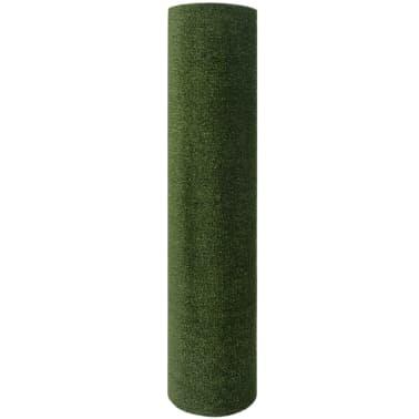 vidaXL Kunstgras 1 x 15 m / 7 - 9 mm groen[3/3]
