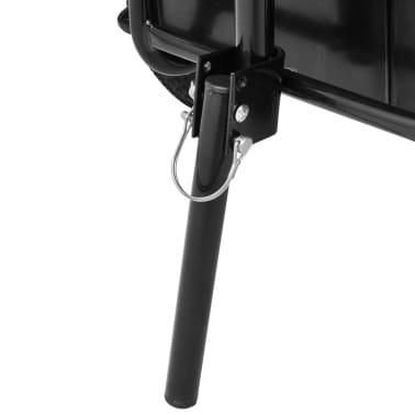 vidaXL Bike Cargo Trailer/Hand Wagon Black 15 gal[5/6]