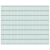 vidaXL Panneau de clôture 2D pour jardin 2008x1630 mm Vert