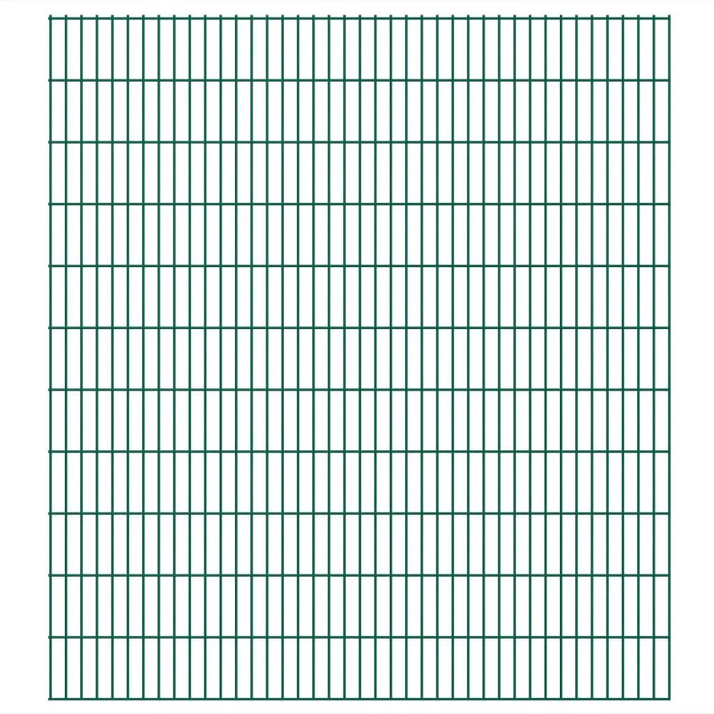 vidaXL 2D zahradní plotový dílec 2008x2230 mm, zelený