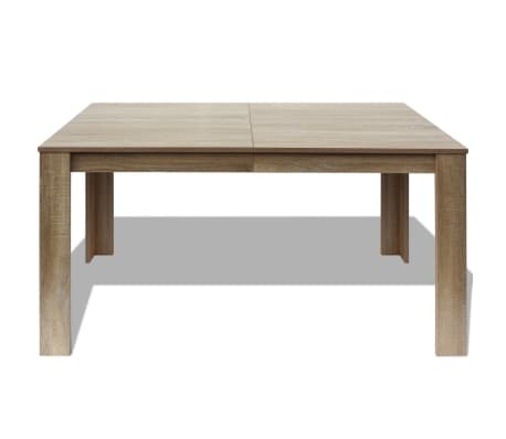 vidaxl table de salle manger 140 x 80 x 75 cm ch ne. Black Bedroom Furniture Sets. Home Design Ideas