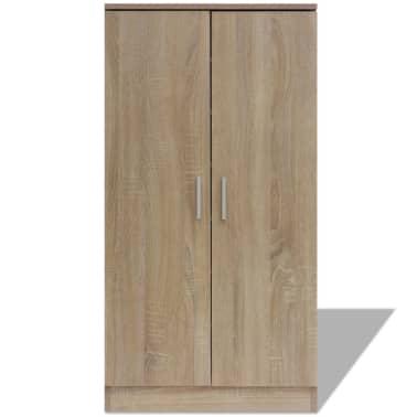 vidaXL Mueble zapatero con 7 estantes de roble[3/7]